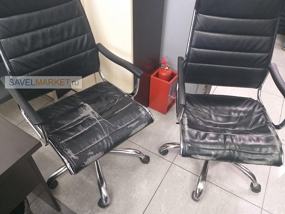 Ремонт компьютерного \ офисного кресла в Москве
