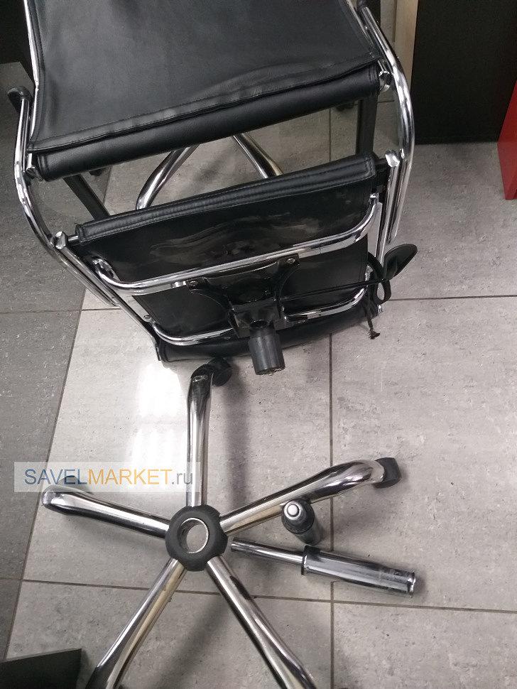 Замена хромированного газлифта на кресле