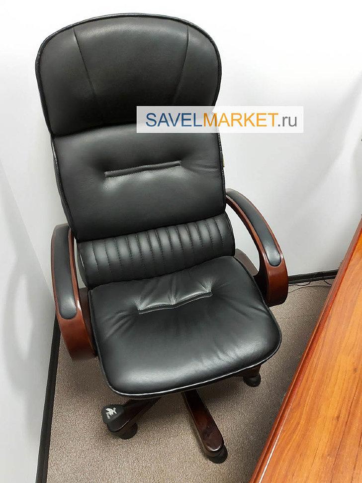 Ремонт кресла в офисе в Москве - замена газлифта на усиленный Stabilus Германия, вызвать мастера - Savelmarket ru
