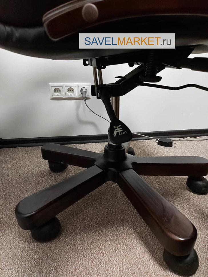 Замена газлифта на кресле в офисе в Москве - ремонт офисных кресел, оплата по счету, наличными, банковской картой, с гарантией - Savelmarket ru