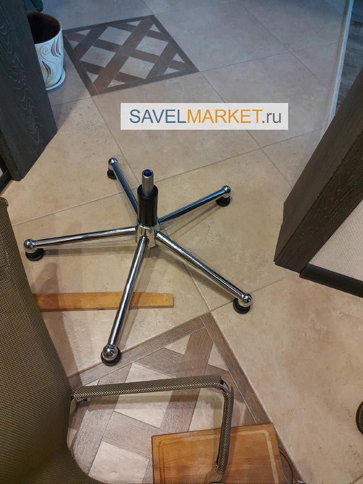 Как увеличить высоту кресла заменив газлифт на высокий - ремонт компьютерных и офисных кресел в Москве SavelMarket.ru